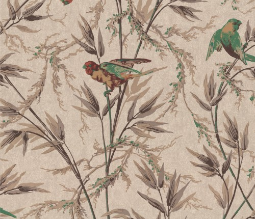 Бумажные обои Little Greene 0251GOCAPPU/0277GTCAPPU коллекции London Wallpapers IV